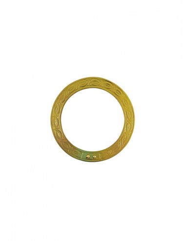 Aureola Santo metal con grabado. Disponible en diferentes medidas. La medida corresponde al diámetro de la aureola.