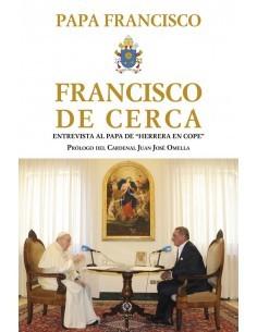 """Romana presenta el volumen """"FRANCISCO DE CERCA"""" del Papa Francisco, que ofrece las palabras del Papa en la entr"""