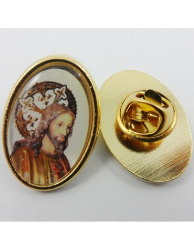 Pin metal Sagrado Corazon, 2,5 cm.