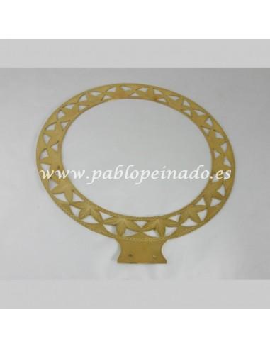 Aureola Dorada Medida: 30 cm