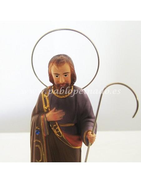 Imagen de San José en resina policromada
