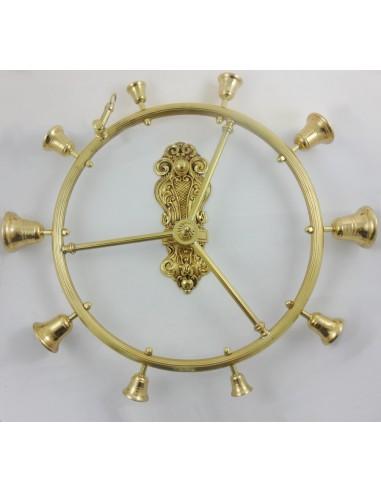 Carrillon tubo, bronce, 45 diametro.