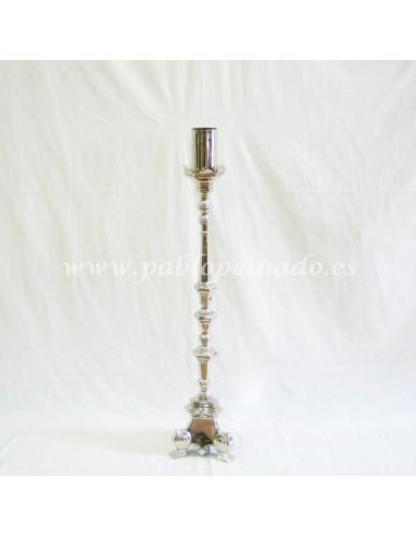 Altura: 115 cm incluido mechero Mechero para cirio de 8 cm