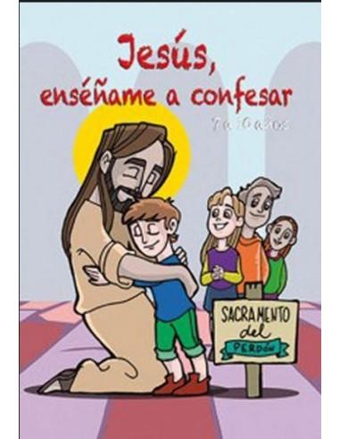 Precioso libro de comics para las primeras confesiones de los niños que se preparan para recibir a Jesús.  Explica el sacrame