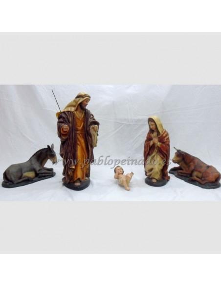 Niño Jesús de madera 27 cm.