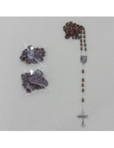 Rosario de madera de Fray Leopoldo