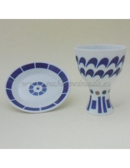 Plato para copa de porcelana 148 mm.
