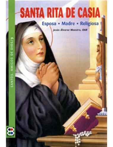 Santa Rita de Casia (Margarita Lotti, 1381-1457) es una mujer que, habiendo pasado por todos los estados de vida -niña y adoles